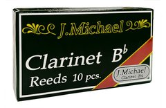 J.MICHAEL R-CL2.5 BOX - Bb Clarinet 2.5 - 10 Box