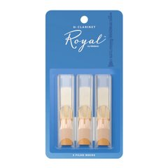 D`ADDARIO RCB0325 Royal - Bb Clarinet #2.5 - 3-Pack