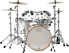 DW PERFORMANCE SERIES 5-PIECE SHELL PACK MAPLE SNARE (Gloss White)
