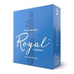 D`ADDARIO RCB1015 Royal - Bb Clarinet #1.5 - 10 box